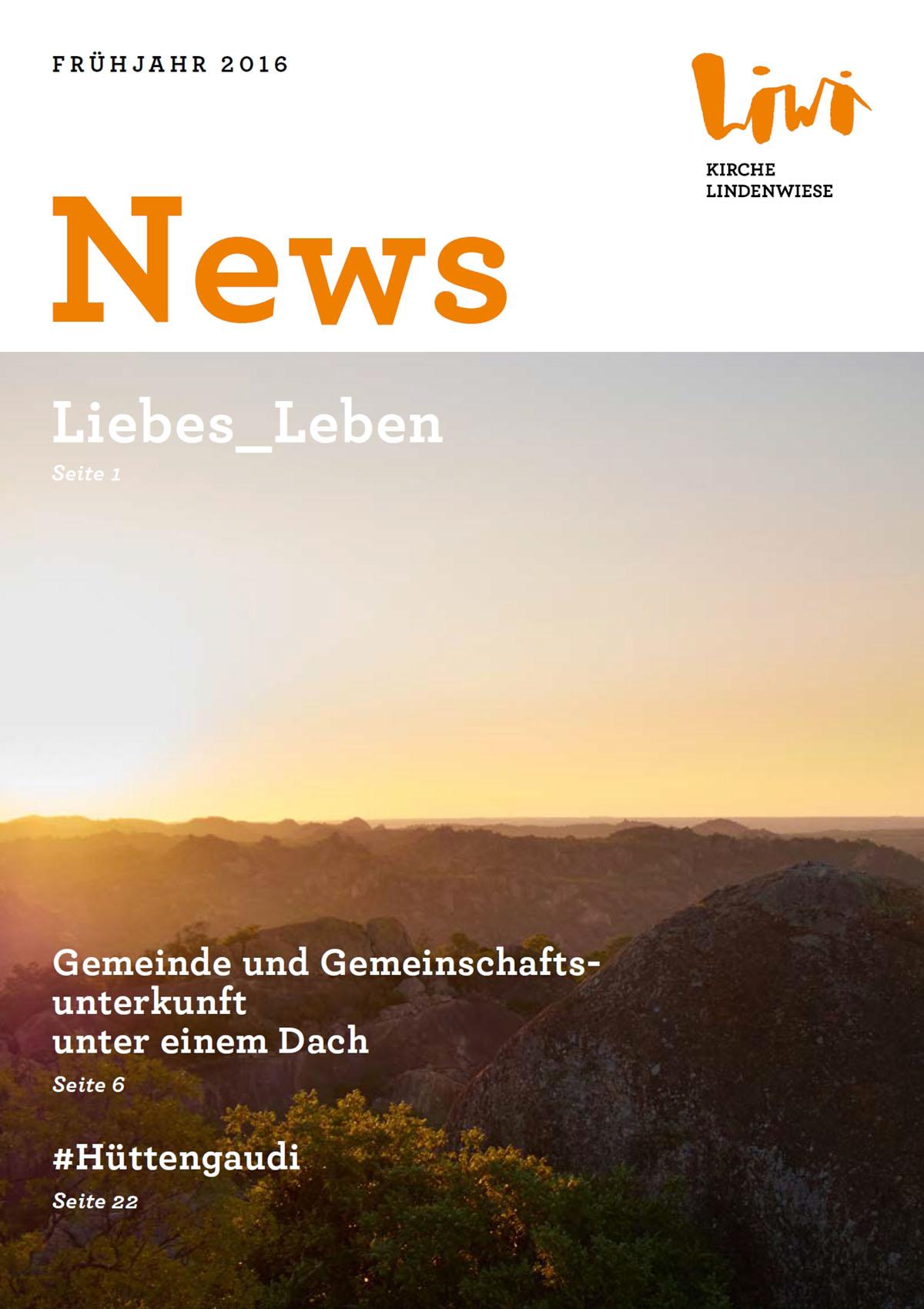 Liwi News Ausgabe Frühjahr 2016