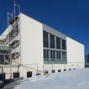 Neubau Gottesdienstsaal 2004
