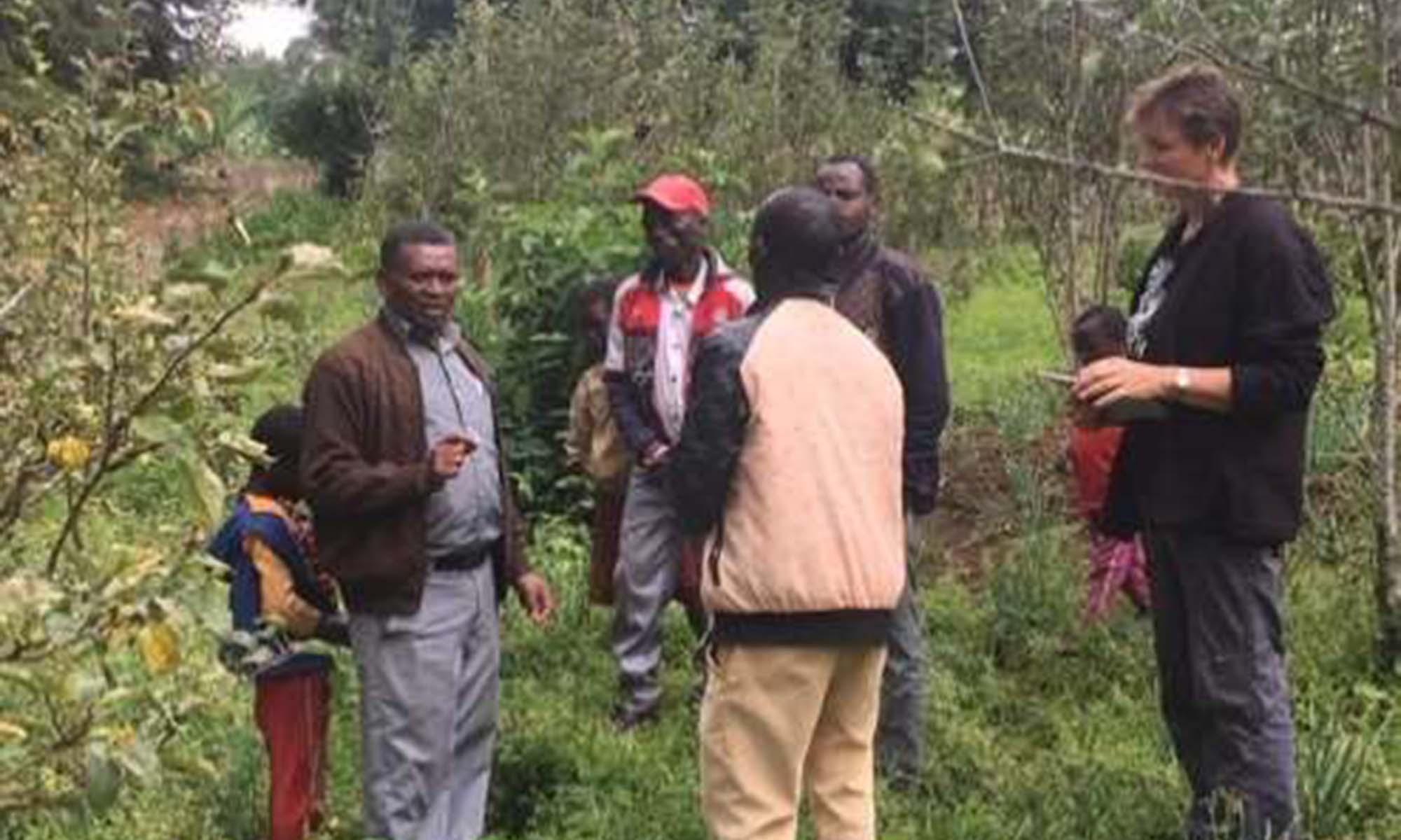 Apfeltraining in Äthiopien